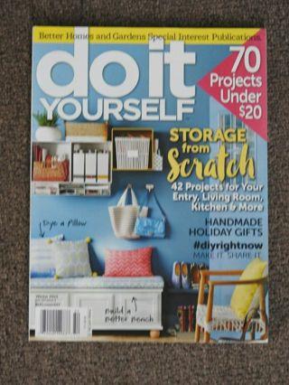 DO IT YOURSELF winter 2015 magazine