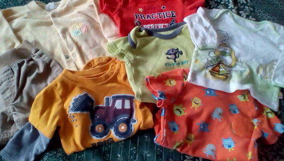 Infant Size (0-3) Months Clothing: GUC