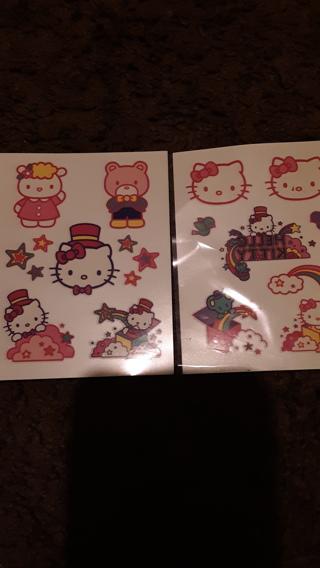 Tatoo's Hello Kitty