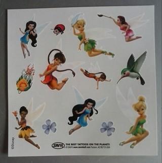 Disney Fairies Temporary Tattoos #1