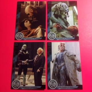 4 Hellboy 2004 Cards!