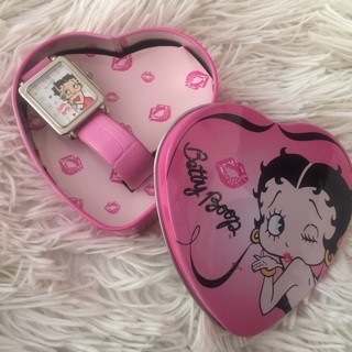 Betty Boop PINK Watch Avon CUTE