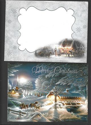 Christmas Card Unused With Envelope Very Nice