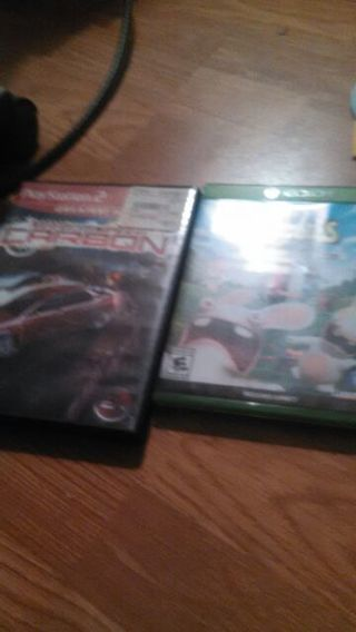 Free: One xbox one game and xdox 360 game with ps2 ganes - Xbox