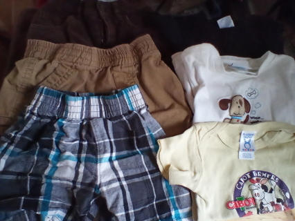 Boys Size 12-24 Months Clothing: GUC