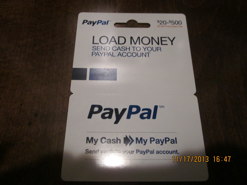 free 30 paypal refill card gift cards auctions for free stuff. Black Bedroom Furniture Sets. Home Design Ideas