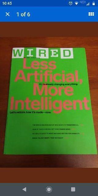 Wired Magazine December 2018 Artificial Intelligence