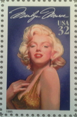 Marilyn Monroe 32 cent stamp out-of-print