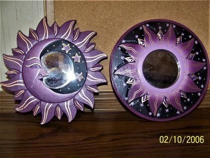 Sun and Moon Mirror Set