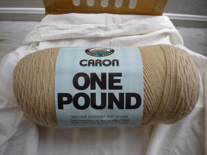 "1 lb. ""Lace"" Caron Yarn"