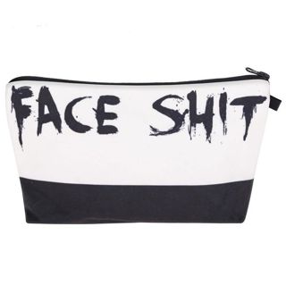 1pc. Face S*** Cosmetic Bag