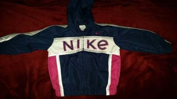 Little Girls NIKE Windbreaker Track Jacket 2T