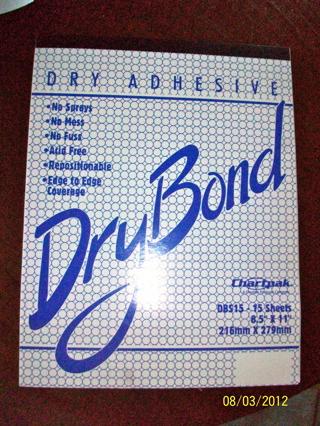 Free: DRY BOND Adhesive Sheets Pad - Scrapbooking & Paper