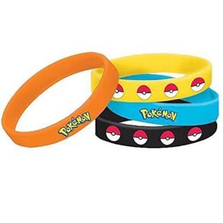 NEW Pokemon Pokeball Wristbands Silicone Bracelets