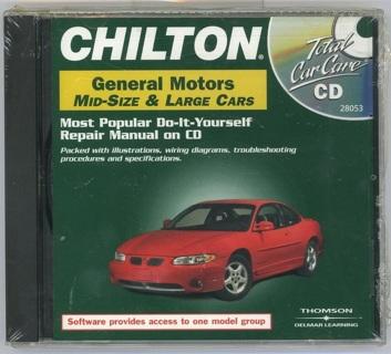 free chilton repair manual