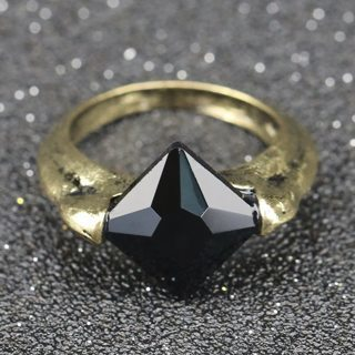 [GIN FOR FREE SHIPPING] Dark Lord Voldemort Horcrux Ring The Resurrection Stone