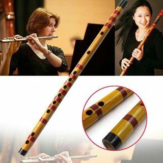 Professional Flute Bansuri Bamboo Woodwind Musical Instrument Handmade
