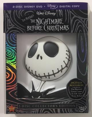 Disney Tim Burton's The Nightmare Before Christmas Collector's Edition 2-Disc DVD Set - NM Discs