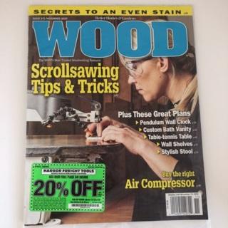 Wood Magazine November 2020 issue new DIY