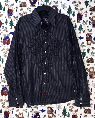 MEN'S GENUINE FENDER GUITAR SHIRT BUTTON UP CASUAL FREE SHIPPING