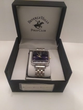 NEW, Fine Men's Beverly Hills Polo Club Watch