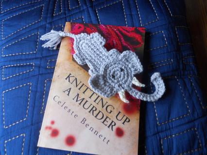 Ravelry: Elephant Bookmark pattern by Jonas Matthies | 320x426