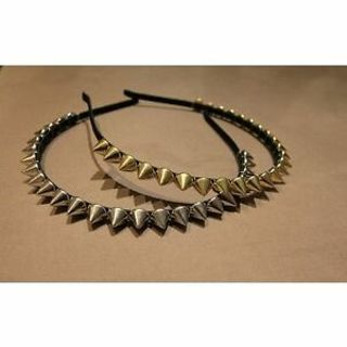 Spike Party Studded Women Metal Lady Hair Band Hair Clips Rivets Headband
