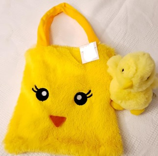 "Child's little Chick Bag with a little added Chick 11"" x 9"" BNWT"