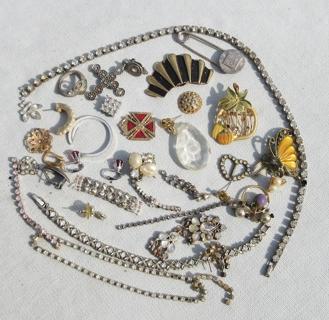 Vintage Jewelry Making Destash Lot *FREE Shipping w GIN