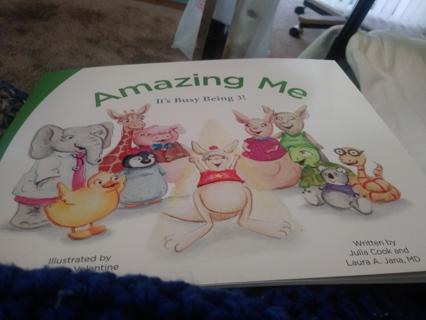 Amazing me children's book