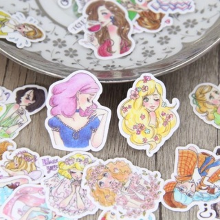 ♡ Sexy Pin up Sketch Girls Kawaii High End Sticker Flakes Set of 10 NEW ♡
