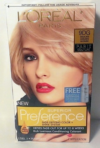 Hair Color Rose Gold Blonde Outstanding Dye Colour Loreal