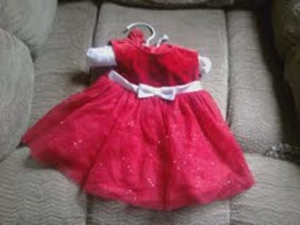 beautiful christmas dress 0 3 months