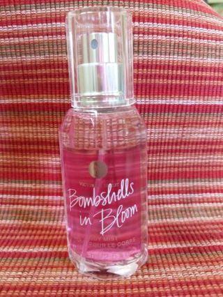 Victoria's Secret bombshells in bloom fragrance mist