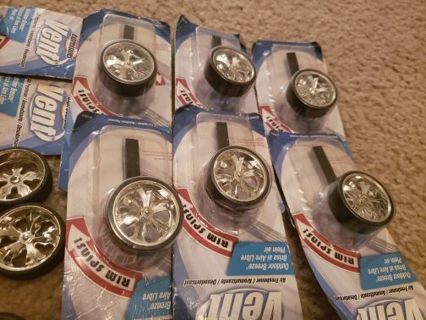 4 Spinner Wheels Air Fresheners