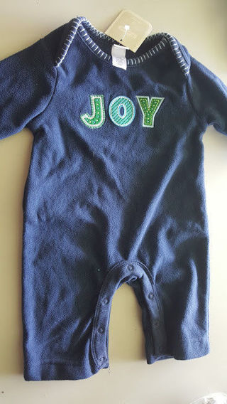 OLD NAVY SERIOUSLY CUTE BLUE BABY ONESIS SIZE 0-3 MONTHS New With Tags $14.50