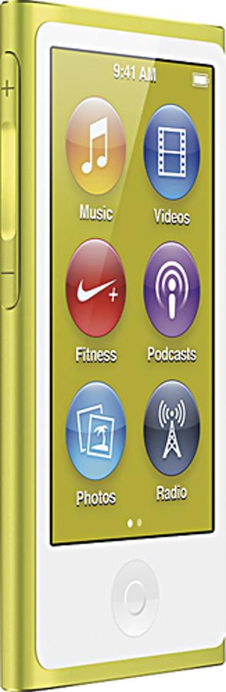 Apple® - iPod nano® 16GB MP3 Player (7th Generation - Latest Model) - Yellow