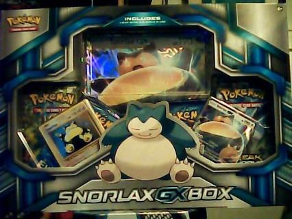 Pokemon TCG: Snorlax-GX Box New Sealed 2016