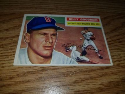 1956 Topps Baseball Billy Goodman #245 Boston Red Sox,VGEX condition,Free Shipping!