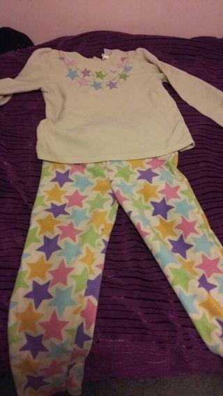 Adorable girls pajamas and girls monster high shirt.