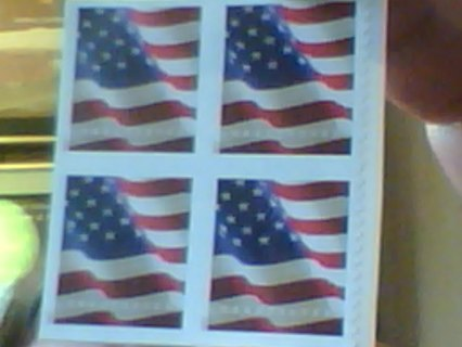 FOUR FOREVER U.S. POSTAGE STAMPS