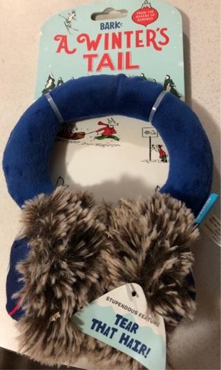 A Winter's Tail Dog Ear Muffs, New