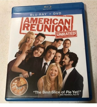 American Reunion Blu-Ray + DVD, Includes Both Unrated & Theatrical  Version