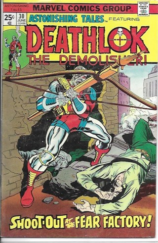 Deathlok The Demolisur! #30 Marvel Comics Group