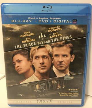 The Place Beyond the Pines Blu-ray Disc w/ Case - NO DVD/DIGITAL