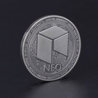 NEO Smart Economy Commemorative Coin Collection Arts Gifts Souvenir Silver