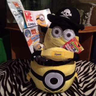 FREE: It's a minion gift basket