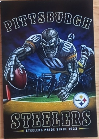 "PITTSBURGH STEELERS NFL - 2 x 3"" MAGNET"