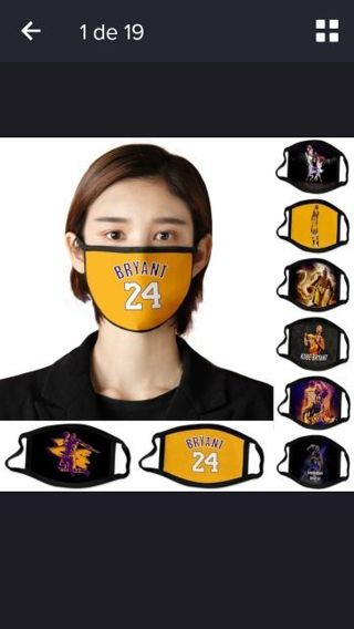 NBA KOBE BRYANT 1Pcs Clinical Face Mask Anti-Bacteria Healthy