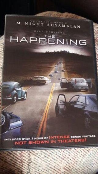 THE HAPPENING - HORROR DVD MOVIE BY: M. Night Shyamalan